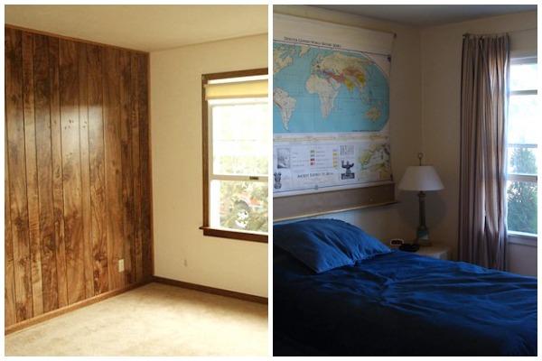 Bedroom 1 Remodel Before-After - An Oregon Cottage