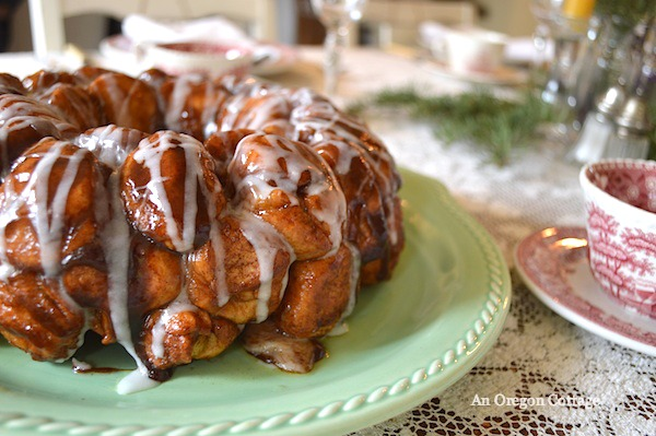 Christmas Morning Monkey Bread - An Oregon Cottage