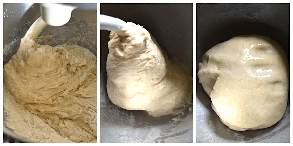 Making Make Ahead Monkey Bread Dough - An Oregon Cottage