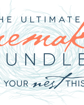 2014 Spring Ultimate Homemaking Bundle Sale