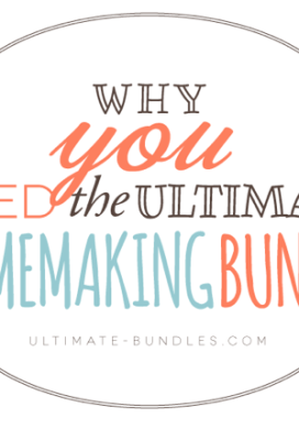 Why Buy The Ultimate Homemaking Bundle?