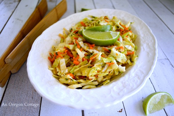 Spicy Cumin-Lime Slaw - An Oregon Cottage