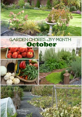Garden Chores For October