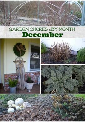December Garden Chores