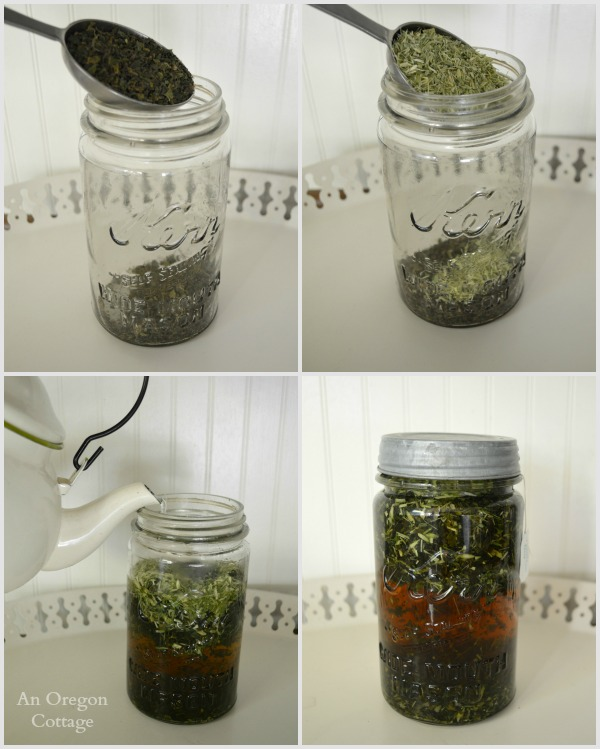 How to Make Nettle and Oats Straw Tea for natural remedies and healing