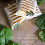 Freezer Mediterranean Breakfast Wraps