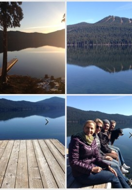 Three Things 3-14-15: A Lake Trip, Garden Surprise & Best Mints