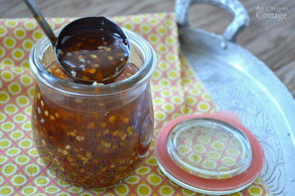 Fast and Easy Honey Sweetened Sweet Chili Sauce