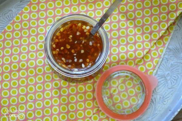 Homemade Honey-Sweetened Sweet Chili Sauce