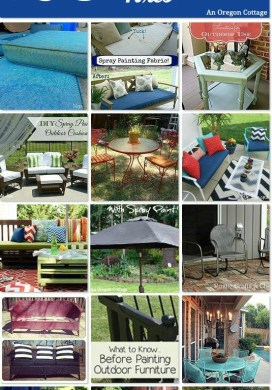20 Creative DIY Outdoor Furniture Fixes