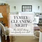 Family Cleaning Night {My Favorite Thing Ever!}