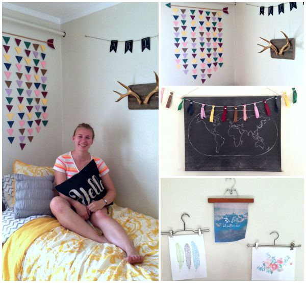 DIY Dorm Room Decor