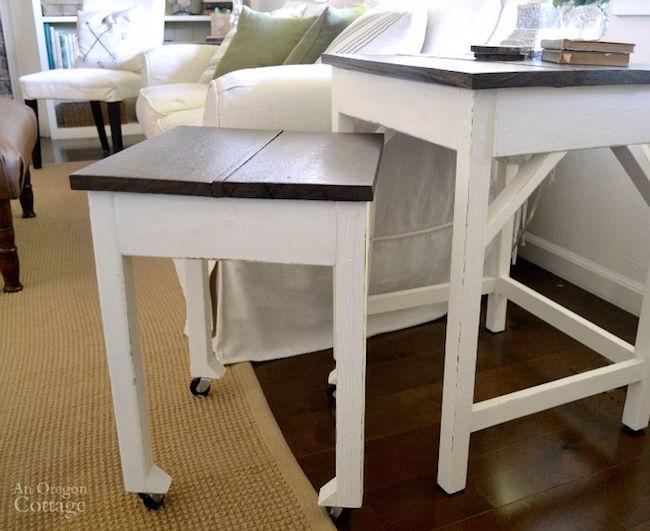 DIY Nesting Tables