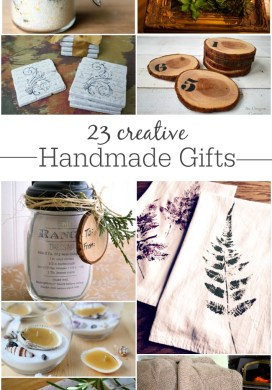 23 Creative Handmade Gifts