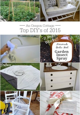 Top 10 DIY Projects of 2015 {+ Behind-the-Scenes Notes}