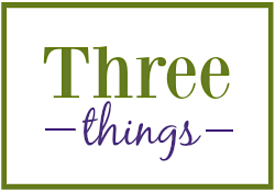 Three Things logo