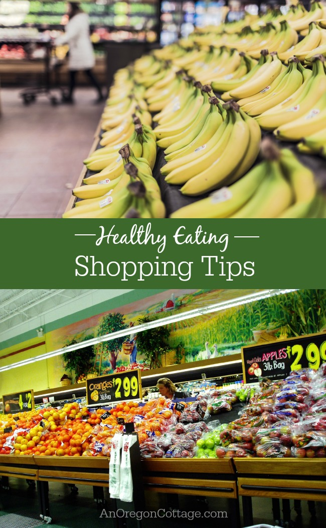 Shopping tips and strategies to make buying food easier and the results healthier - without busting your budget.