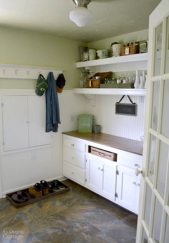 Laundry-Mudroom Makeover after-cabinets-shelves