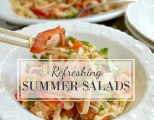 Salads for summer on AOC