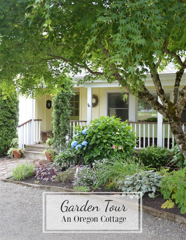 Come take a Yard and Garden Tour at An Oregon Cottage where you'll find inspiration, best plants, and links to easy garden techniques