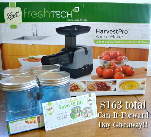 HarvestPro Sauce Maker Giveaway Set