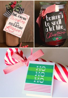 Quick DIY Holiday Gifts with Free Printables -31 Days of Handmade Gifts