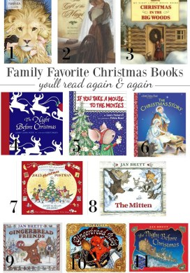 Family Favorite Christmas Books, Movies & Shows