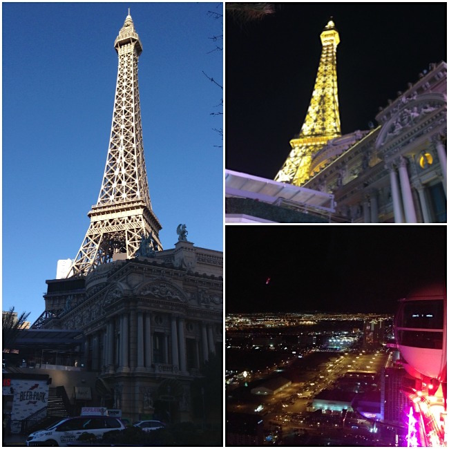 Las Vegas Eiffel Tower-High Roller