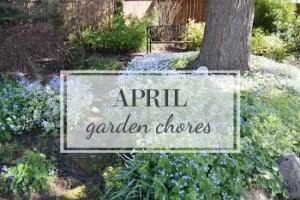 April Garden Task Checklist