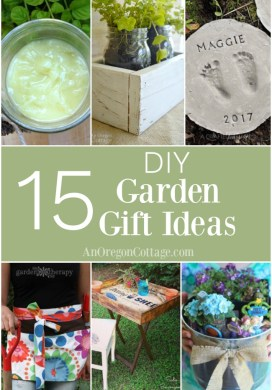 15+ Simple & Lovely DIY Garden Gift Ideas