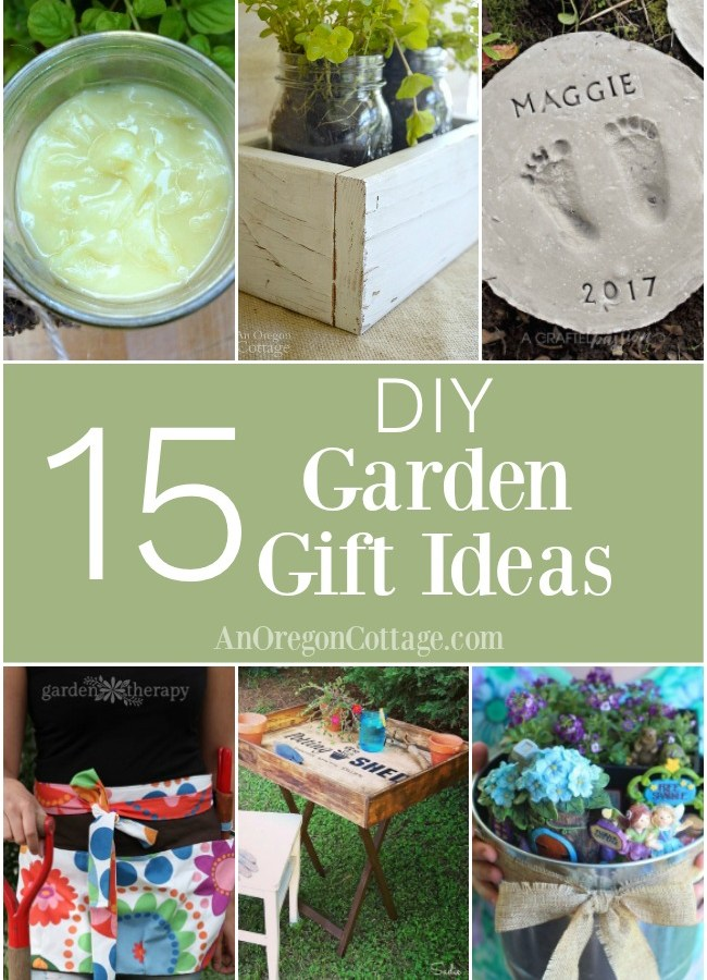 Easy and sweet DIY garden gift ideas both for and from the garden. Perfect for the gardeners and wanna-be gardeners in your life - and anyone who appreciates unique handmade items!