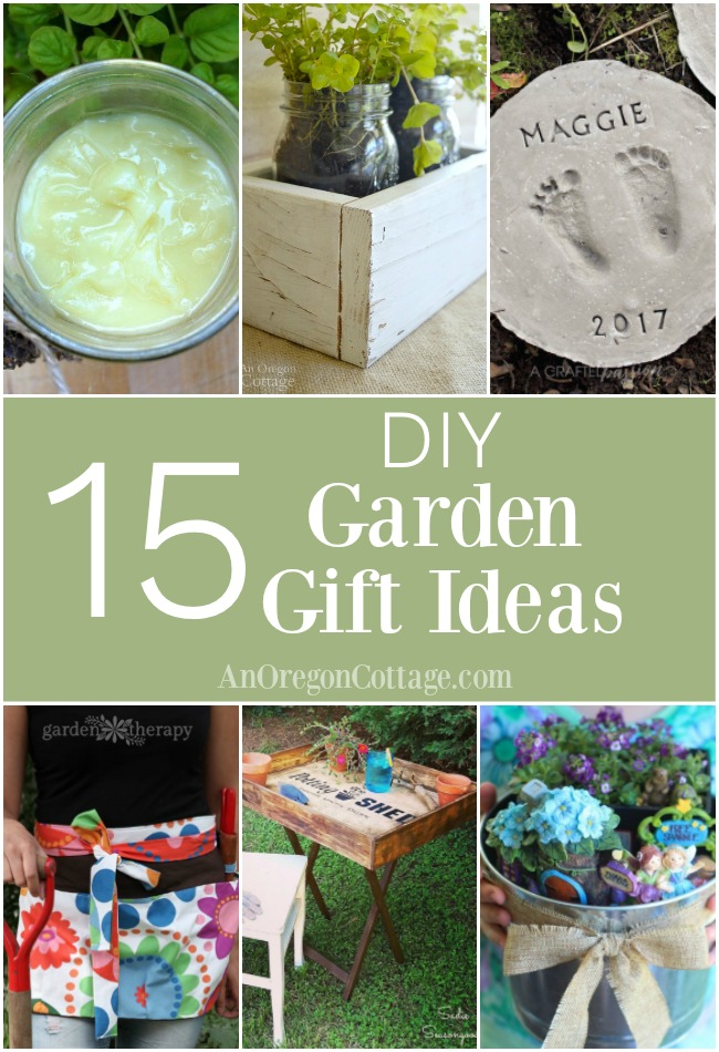 easy and sweet diy garden gift ideas both for and from the garden perfect for