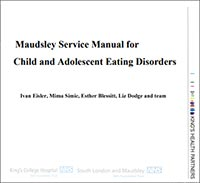 Maudsley service manual child adolescent eating disorder