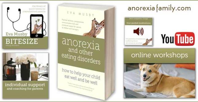 Help for parents of a child with an eating disorder