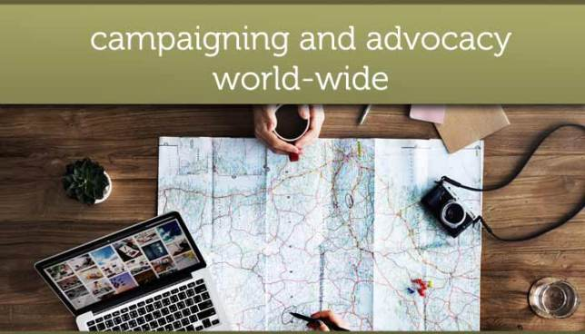 Campaigning and advocacy for eating disorders world-wide