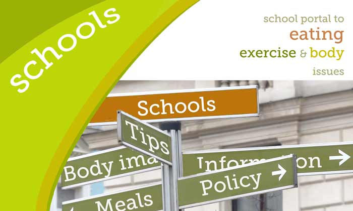 Schools: main page / portal to eating, exercise and body issues