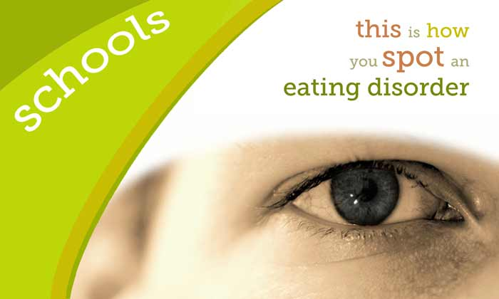 Schools, this is how you spot an eating disorder