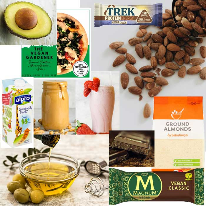 Vegan foods for high calorie meals - anorexia