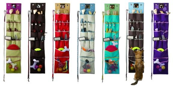 Organized pet accessories