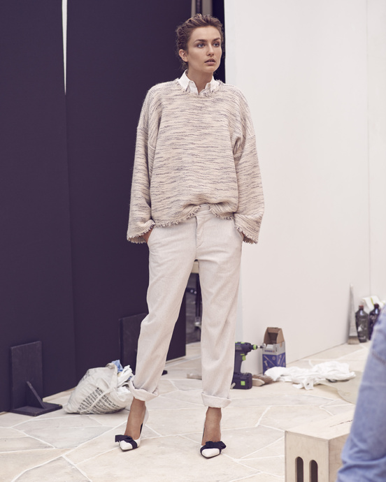 Isabel Marant…Cropped and Cuffed