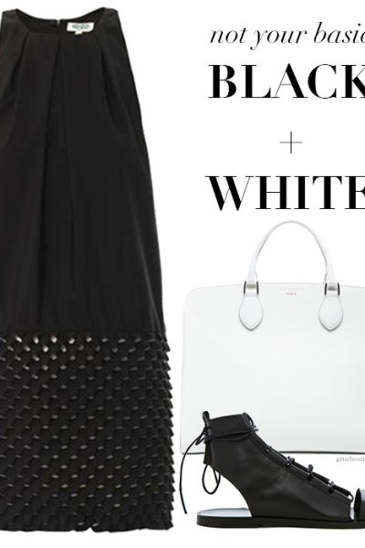 Fashion Notes in Black and White