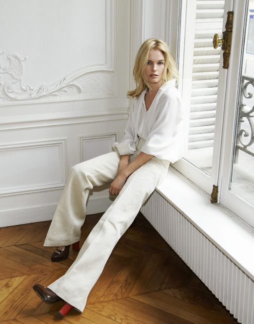 An Updated White Pant