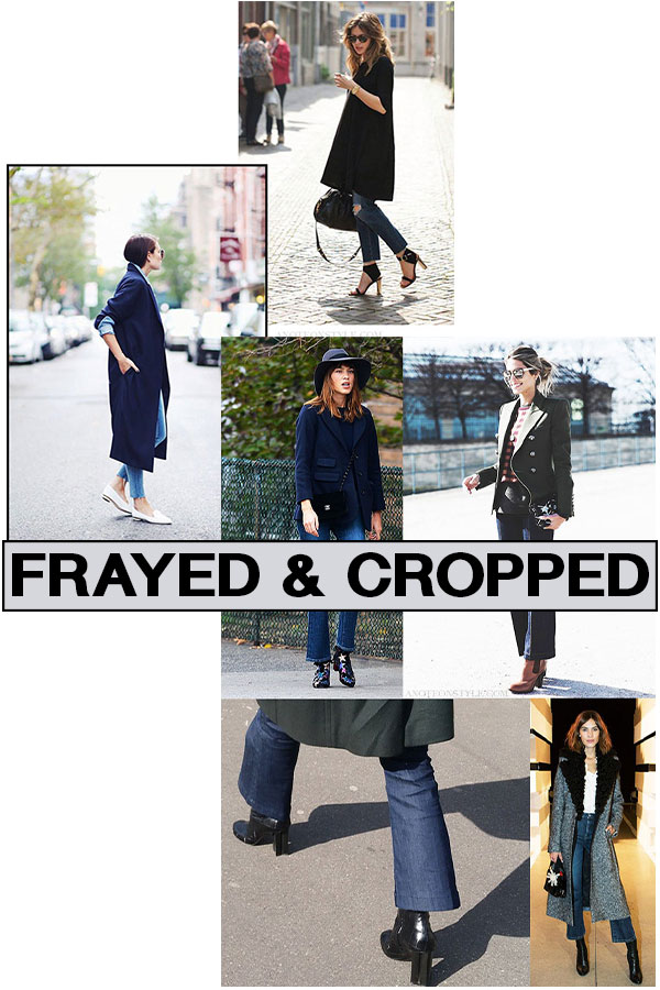 Frayed Edges and Cropped Flares