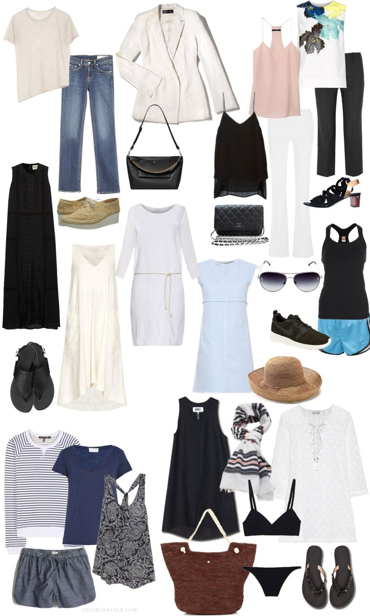 Summer Carry On Only Wardrobe For Spain: The Summer Carry On Guide