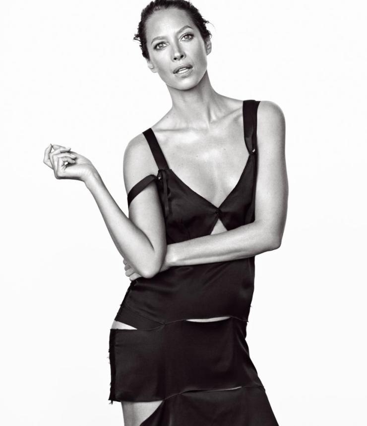 Christy Turlington In WSJ. Magazine
