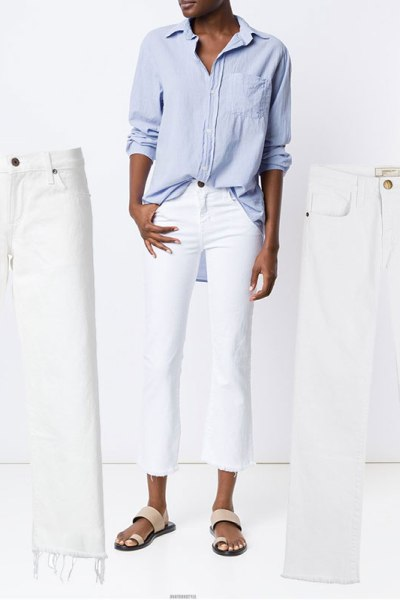 The White Denim Wardrobe
