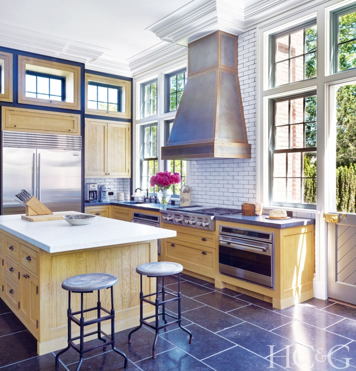 Kitchen Design Center: Touring A Restored 1840's Home In Sag Harbor