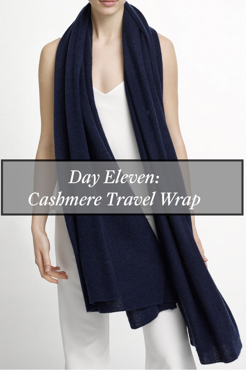 Counting Down To Christmas – Day 11- Cashmere Wrap