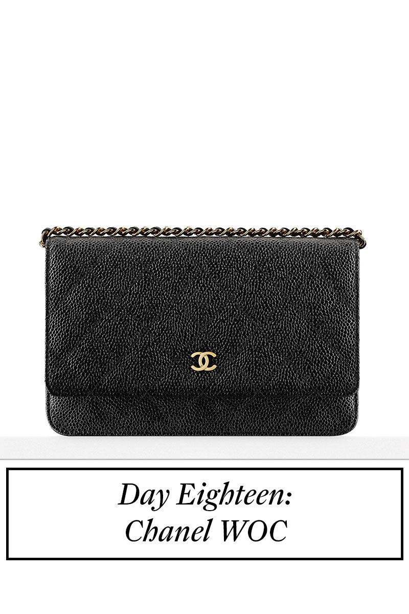 Counting Down To Christmas – Day 18 – Chanel WOC