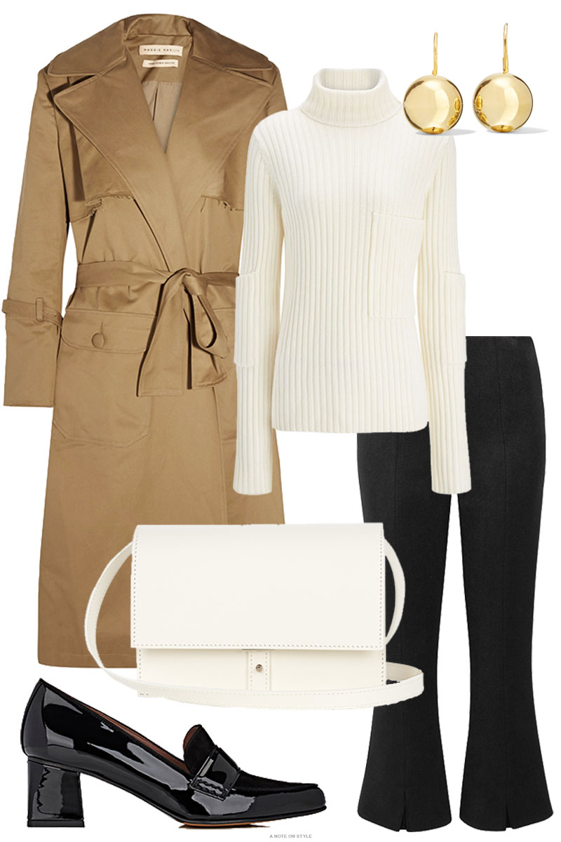 A Khaki Trench – The Forever Piece